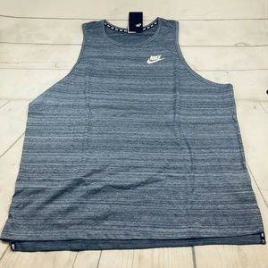 Mens 2XL Nike NSW Sportswear Advance 15 Knit Tank